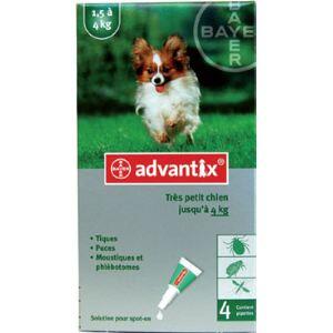 Advantix Très petit chien 1.5-4 kg - Soin antiparasitaire