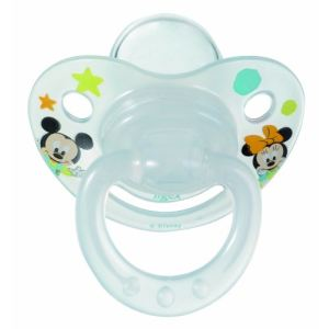 Tigex 327150 - 2 sucettes physiologiques Minnie et Mickey en silicone T2