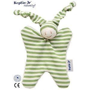 Keptin-Jr Doudou hochet écologique 18 cm