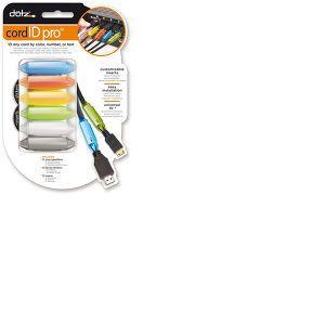 Dotz Cord iD Pro - Pack de 12 identificateurs de câbles colorés