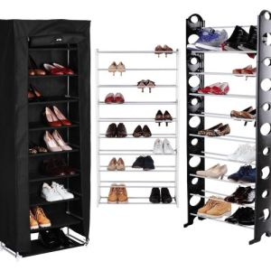 meuble a chaussure 40 paires comparer 44 offres. Black Bedroom Furniture Sets. Home Design Ideas