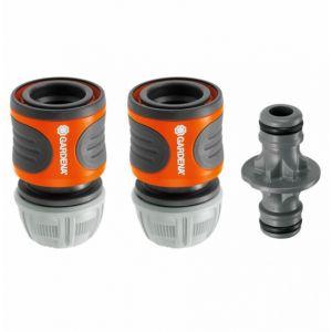 Gardena 8180-20 - Nécessaire de connexion pour tuyau d'arrosage Ø 13-15 mm