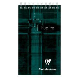 Clairefontaine 8626C - Bloc Metric Pupitre 80 feuilles  (85x140 mm)