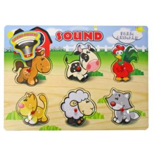 Wonder Kids Puzzle à encastrement sonore (modèle aléatoire)