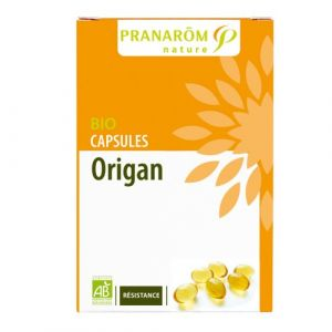 Pranarôm Origan - Capsules Bio olearomatiques 30 capsules