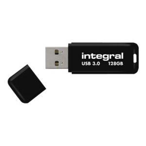Integral INFD128GBNOIR3.0 - Clé USB 3.0 Noir 128 Go