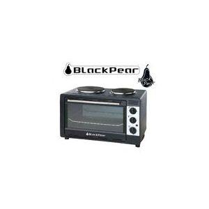 Black Pear MB 210 - Mini four 30 L avec 2 plaques de cuisson intégrés