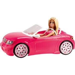 Mattel Barbie et son cabriolet