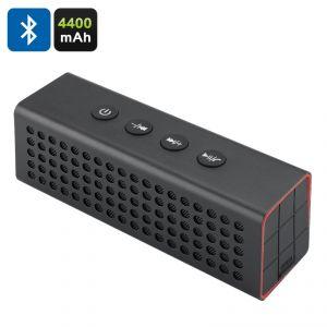 High-Tech Place Enceinte Bluetooth 20 Watts + Batterie de secours