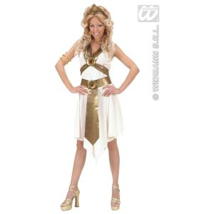 Déguisement déesse romaine robe blanche (taille M)