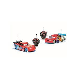 Majorette Coffret 2 voitures radiocommandées Cars 1/24ème McQueen et Petrov