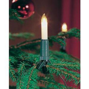 Konstsmide Guirlande de sapin 30 ampoules bougies (23 m)