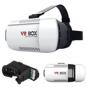 """Qumox VR Box Lunettes 3d Bluetooth Gamepad avec Télécommande Pour Iphone Samsung 4,7-6"""""""