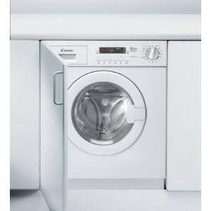 Candy CDB 485 DN/1S - Lave linge séchant encastrable 8 kg