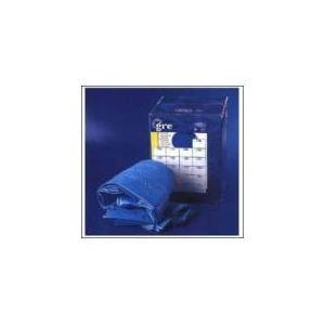 Gre FPROV707 - Liner 40/100 pour piscine en huit hors sol 710 x 475 x 120 cm (avec rail d'accroche)