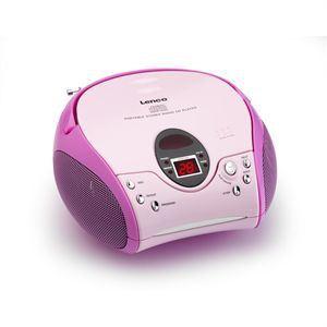 Lenco SCD-24 MP3 - Poste radio CD/MP3