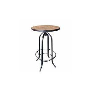 Manufacture - Table de bar avec repose pieds