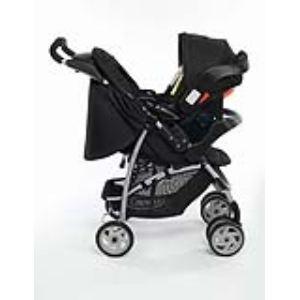 Graco Mirage+ Travel System - Combiné Duo avec poussette et siège auto Junior Baby