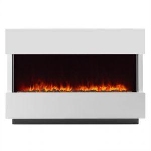 Klarstein Studio-1 - Cheminée électrique simulation de flammes 750/1500 W 40 m2