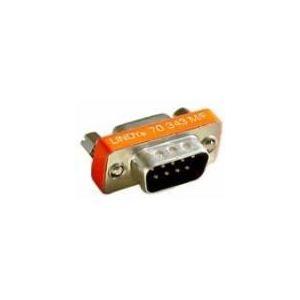 Lindy 70343 - Mini adaptateur Sub-D 9M/15F