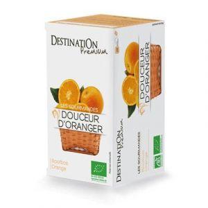 Destination Premium Tisane gourmande Douceur d%u2019oranger - Boîte de 20 sachets