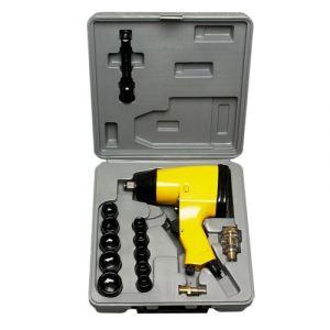 Prodif PC51100 - Clé à choc 1/2 pneumatique + 10 douilles et accessoires