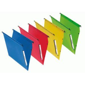 L'Oblique AZ Paquet de 10 dossiers suspendus Fun 330 pour armoire OAZ (fond : V)