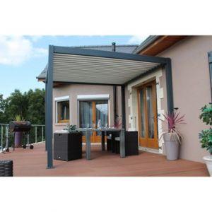 pergola aluminium comparer 465 offres. Black Bedroom Furniture Sets. Home Design Ideas