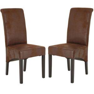 Jade - 2 chaises design pour salle à manger