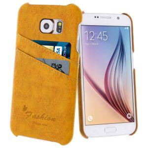 Avizar BACK-2CV-BL-G920F - Coque de protection arrière pour Samsung Galaxy S6 + chiffonnette