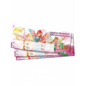 20 billets d'invitation Winx Club