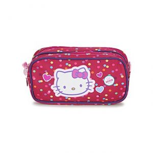 Sanrio Trousse double Hello Kitty