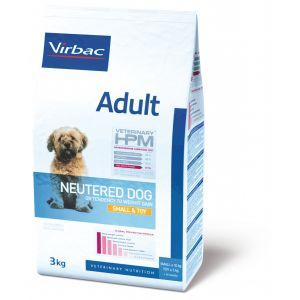 Virbac Veterinary HPM Adult Neutered Small et Toy 7Kg - Croquettes pour chien