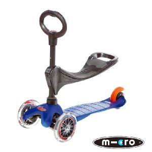 Micro Mini - Trottinette 3 en 1 avec siège
