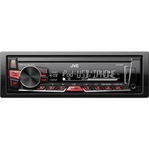 JVC KD-X220 - Autoradio USB/MP3/WMA/AAC/FLAC/iPhone (4 x 50 Watts)