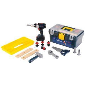 Klein Caisse à outils Bosch avec visseuse Pro Blue Line