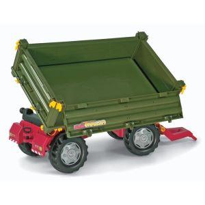 Rolly Toys Remorque 2 axes pour tracteur à pédales