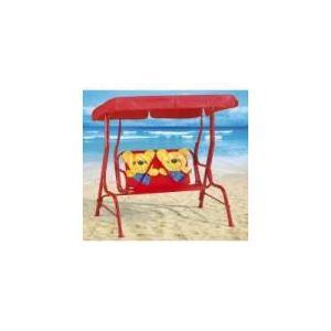 balancelle de jardin ours pour enfant 115 x 75 x 110 cm. Black Bedroom Furniture Sets. Home Design Ideas