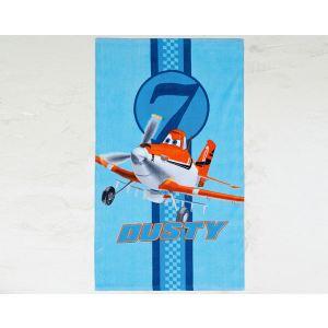 Cti 041388 - Drap de bain/plage Planes Skies Calling (70 x 120 cm)