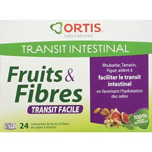 Ortis Ortis fruits & fibres - 24 cubes