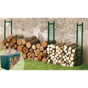 Serre bois + bâche 6 m + module