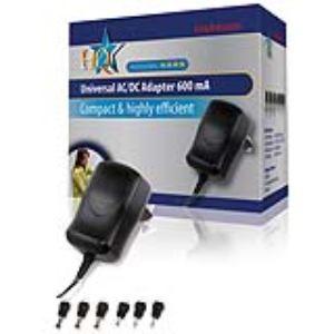 Hq P.SUP.EU600U - Adaptateur universel 3-12V 600 mAh pour prise d'alimentation