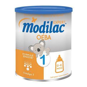 Modilac Lait Expert Oéba formule épaissie 1er âge 800 g - de 0 à 6 mois