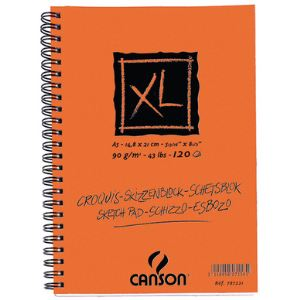 Canson Infinity 787221 - Album croquis XL à 60 feuilles 90 g (A5)