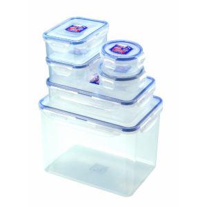 Lock & Lock 7 boîtes hermétiques empilable