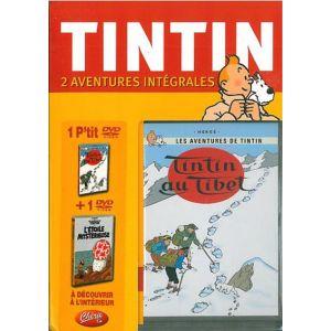 Coffret Les aventures de Tintin - L'étoile mystérieuse + Tintin au Tibet