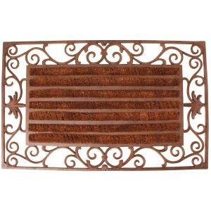 Esschert design Paillasson Rouleau en coco (46 x 74 cm)
