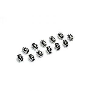 Absima 1230083 - Support acier supérieurs pour amortisseurs (x12) Buggy/Truggy