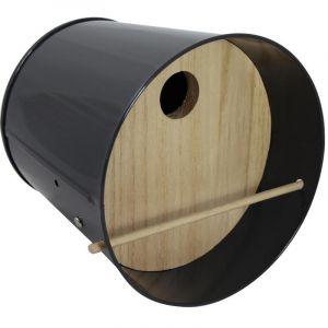 Guillouard Garden Life Box Gris anthracite - Abri pour oiseaux et insectes multifonction