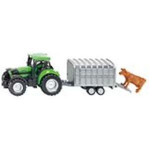 Siku 1640 - Tracteur Deutz avec remorque bétail - Echelle 1:64